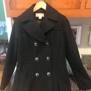 Michael Kors Black Wool Women's coat